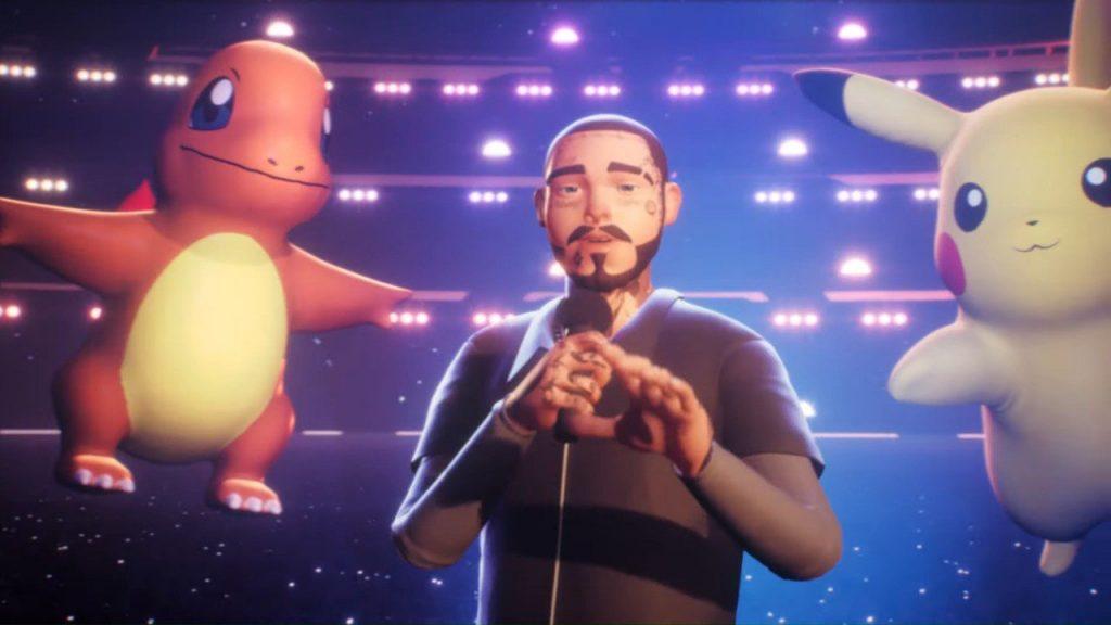 Pokémon Post Malone Music Event