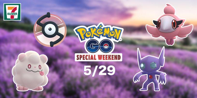 Pokémon GO Special Weekend promotional artwork.