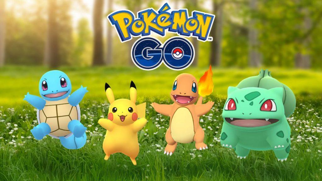 Promotional artwork for Pokémon GO.