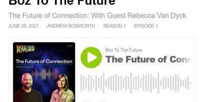 Screenshot for the Boz to the Future Podcast