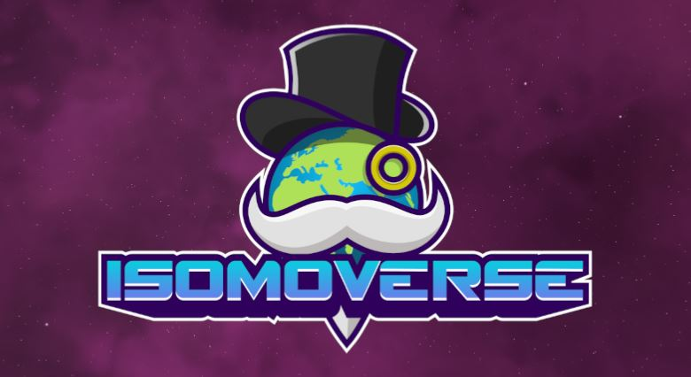 Logo for Augmented Reality Puzzle Game ISOMOVERSE