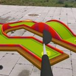 Gameplay of the Augmented Reality Mini Golfing game