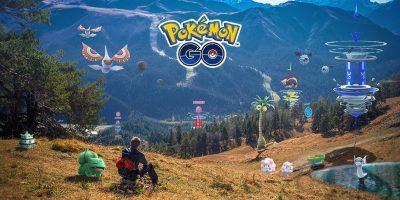 Promo Art for the Pokémon GO Real-Time Sky Mechanic.