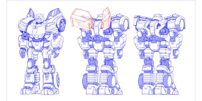 Concept Art for TRANSFORMERS: Heavy Metal