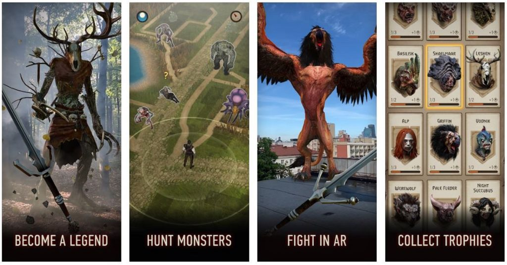 Image from the Monster Slayer Google Play Listing